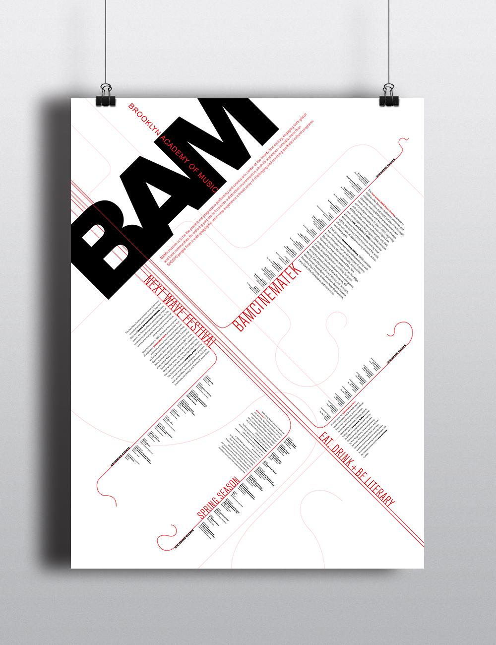 BAM poster