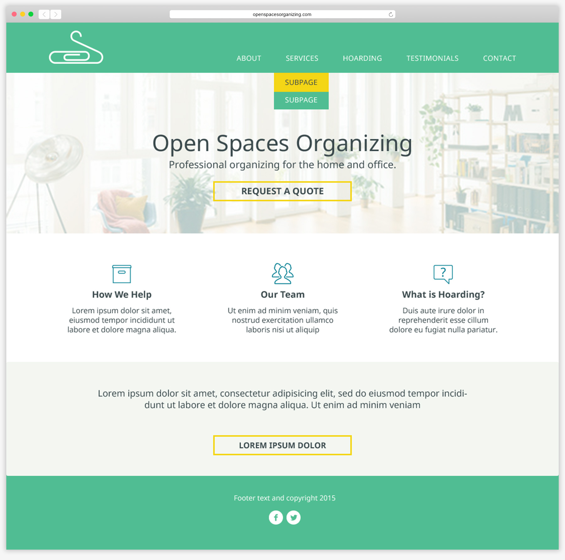 Open Spaces Organizing Homepage